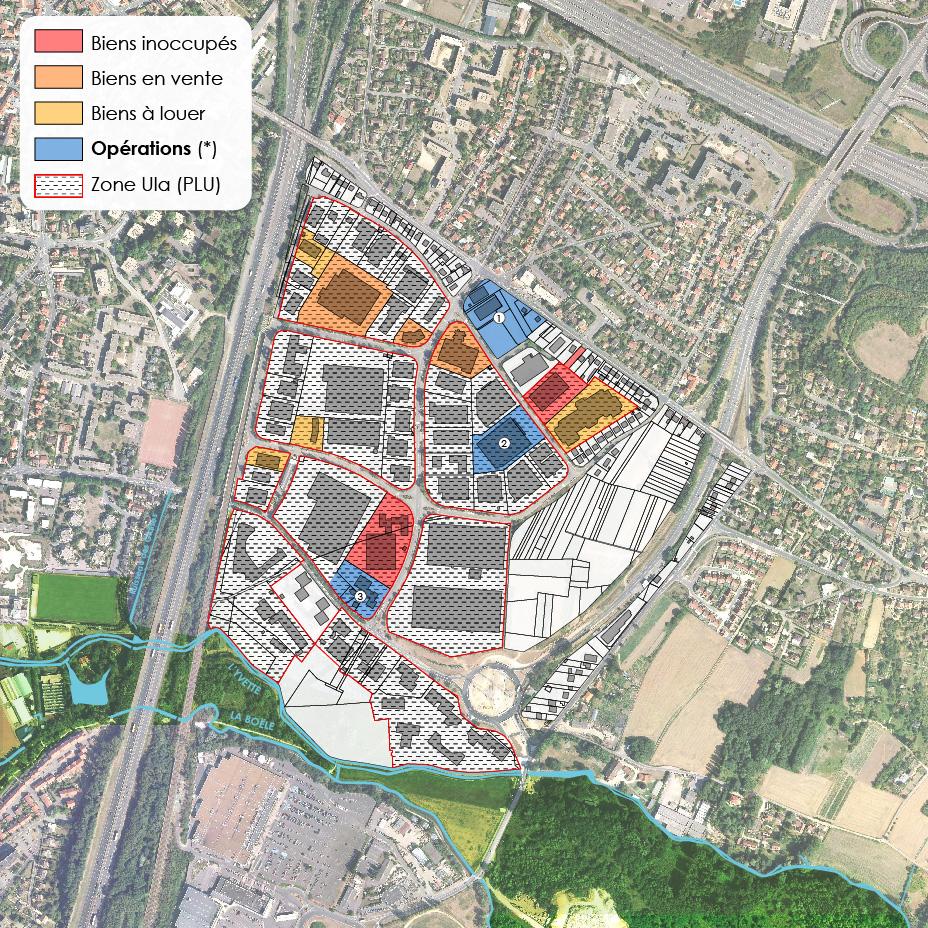 Mutation urbaine de la zone d activit s des glaises for Piscine palaiseau