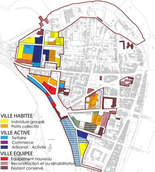 Plan Ville De Vintimille
