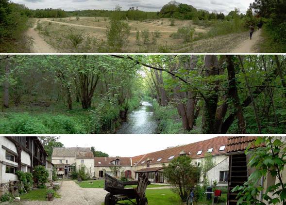 Site de la faisanderie et des moulineaux plaine de for Agence paysage versailles