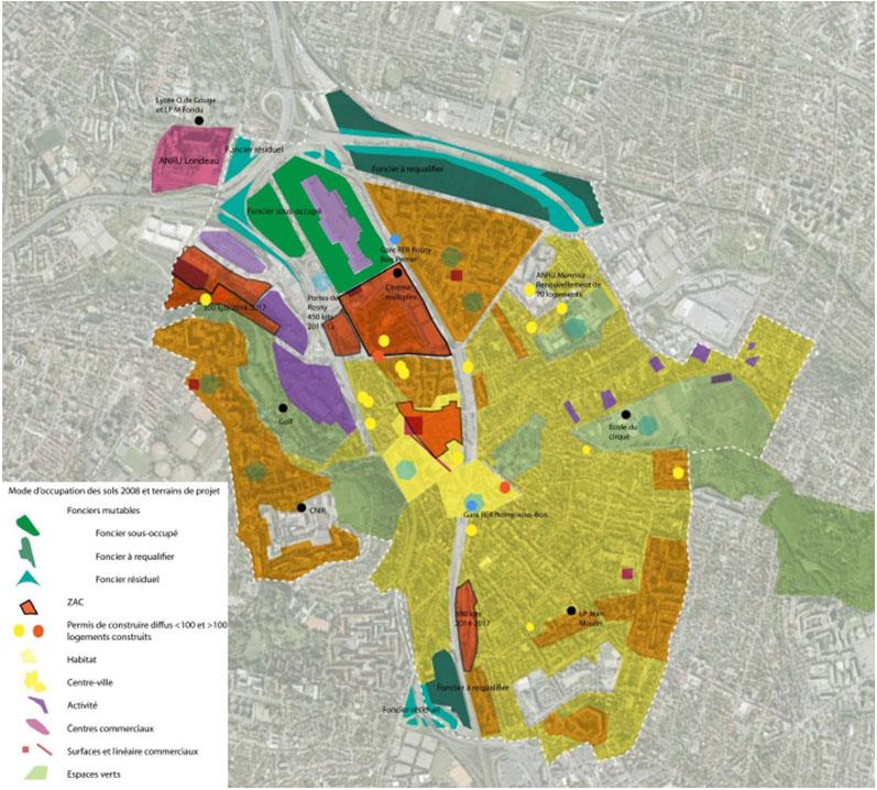 guide et programmation architecturale et urbaine – RosnysousBois ~ Siretex Rosny Sous Bois